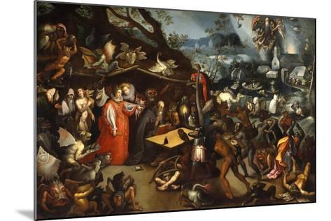Meditation of St Anthony-Jacob Van Swanenburg-Mounted Giclee Print