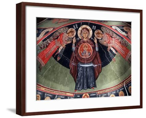 Virgin and Angels, 1494-Philippos Goul-Framed Art Print