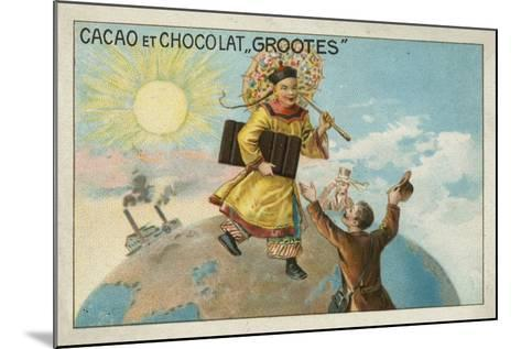 Advertisement for Grootes Cocoa and Chocolate--Mounted Giclee Print