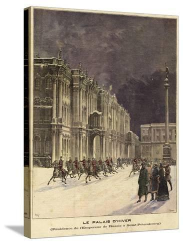 The Winter Palace--Stretched Canvas Print
