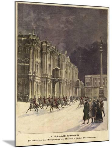 The Winter Palace--Mounted Giclee Print