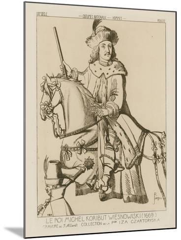 Michael Wisniowiecki, King of Poland-Raphael Jacquemin-Mounted Giclee Print