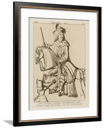 Michael Wisniowiecki, King of Poland-Raphael Jacquemin-Framed Art Print