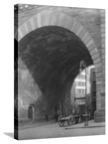 Frankfort Street, New York City, C.1903-10--Stretched Canvas Print