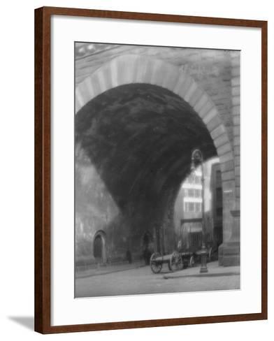 Frankfort Street, New York City, C.1903-10--Framed Art Print