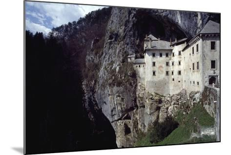 Predjama Castle--Mounted Giclee Print
