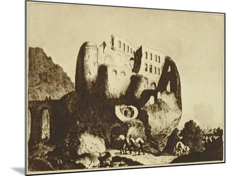 Le Coupe-Gorge Effrayant-Johann Michael Voltz-Mounted Giclee Print