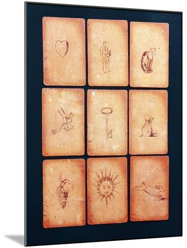 Gipsy Tarot Cards, Mid 20th Century--Mounted Giclee Print