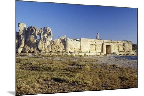 Megalithic Temple of Hagar Qim--Mounted Photographic Print