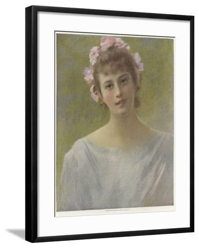 Summer Roses--Framed Art Print