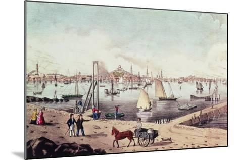 View of Boston--Mounted Giclee Print