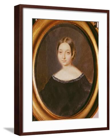 Marceline Desborde-Valmore--Framed Art Print