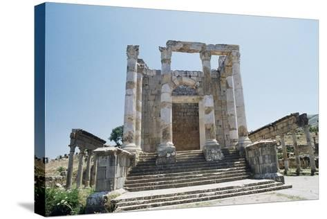 Temple of Septimius Severus--Stretched Canvas Print