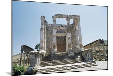 Temple of Septimius Severus--Mounted Giclee Print