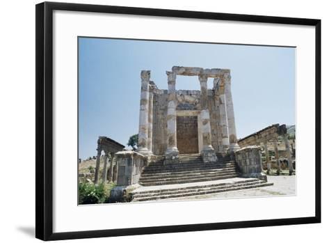 Temple of Septimius Severus--Framed Art Print