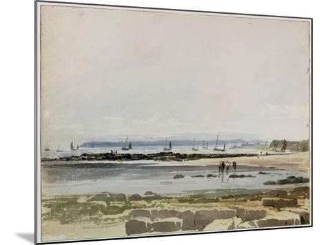 Beach Scene-Samuel Prout-Mounted Giclee Print