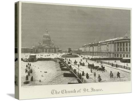 The Church of St Isaac--Stretched Canvas Print