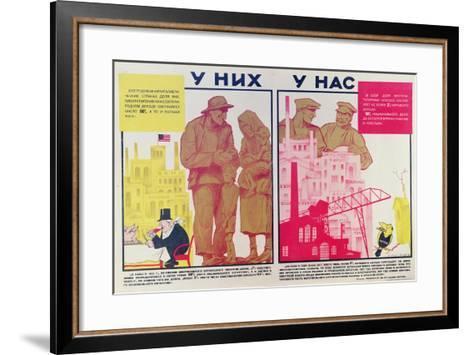 Them and Us, 1931--Framed Art Print