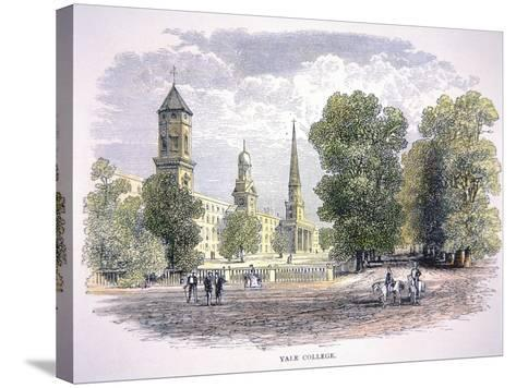 Yale University, New Haven, Connecticut--Stretched Canvas Print