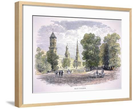 Yale University, New Haven, Connecticut--Framed Art Print