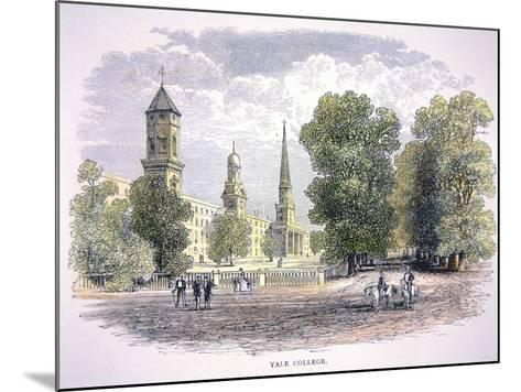 Yale University, New Haven, Connecticut--Mounted Giclee Print