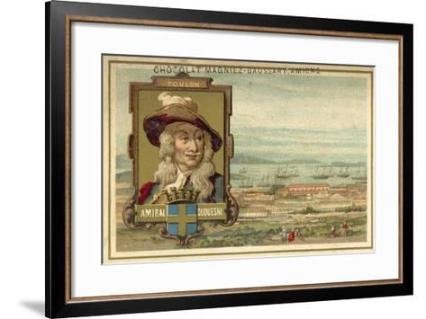 Toulon - Admiral Duquesne--Framed Art Print