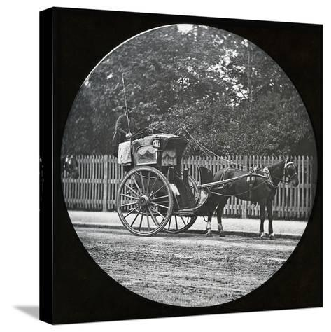 Hansom Cab--Stretched Canvas Print