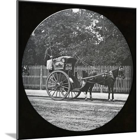 Hansom Cab--Mounted Photographic Print