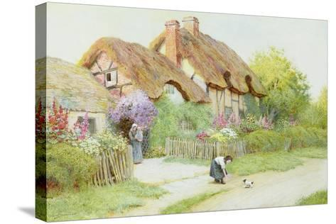 Making Friends-Arthur Claude Strachan-Stretched Canvas Print