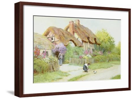 Making Friends-Arthur Claude Strachan-Framed Art Print