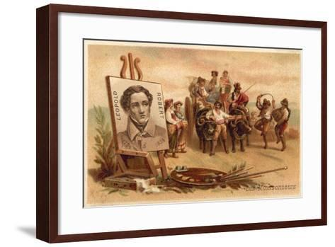The Harvesters by Louis Leopold Robert-Louis Leopold Robert-Framed Art Print