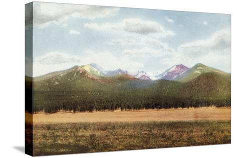 San Francisco Mountains, Arizona--Stretched Canvas Print