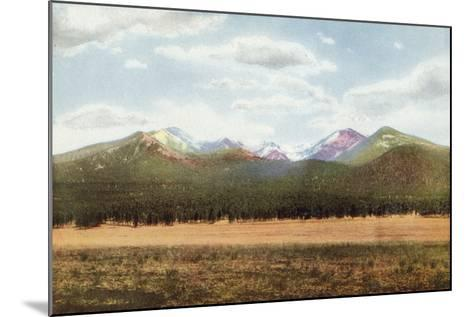 San Francisco Mountains, Arizona--Mounted Photographic Print