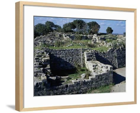 The Walls and the East Gate--Framed Art Print