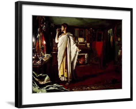 Actor Mounet Sully--Framed Art Print