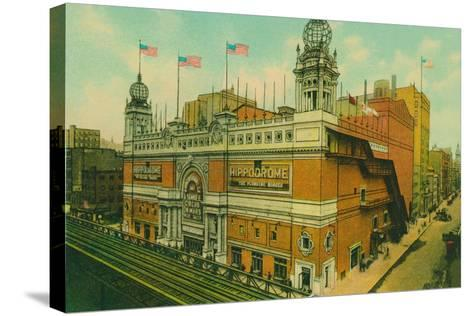 The Hippodrome, New York City--Stretched Canvas Print
