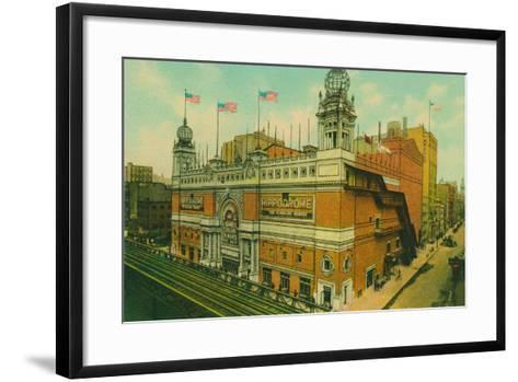The Hippodrome, New York City--Framed Art Print