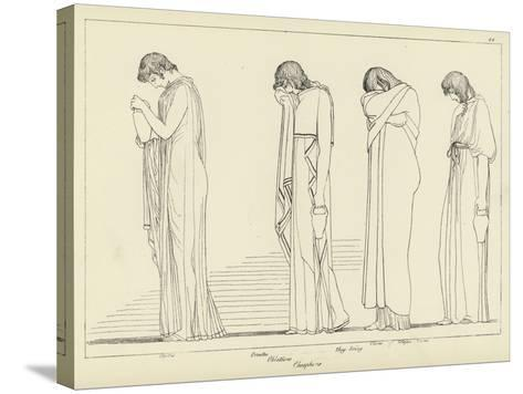 Orestes-John Flaxman-Stretched Canvas Print