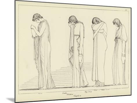 Orestes-John Flaxman-Mounted Giclee Print