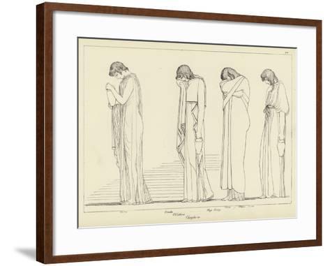 Orestes-John Flaxman-Framed Art Print