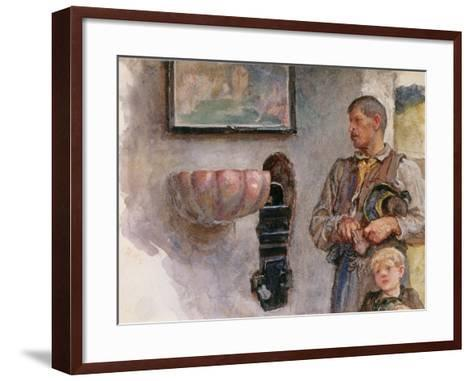 The Offertory-Hubert von Herkomer-Framed Art Print