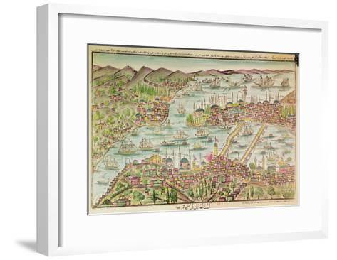 View of Constantinople--Framed Art Print