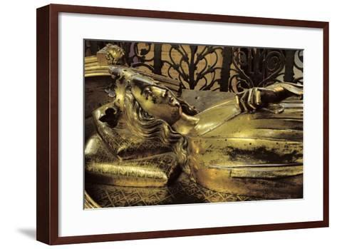 Tomb Figure of Eleanor of Castile--Framed Art Print