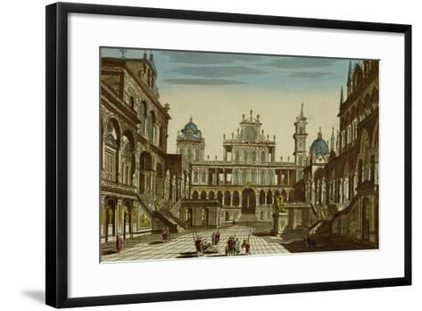 Set Design of Square-Michele Mariesche-Framed Art Print