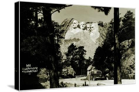 Mount Rushmore Memorial, C.1941-42--Stretched Canvas Print