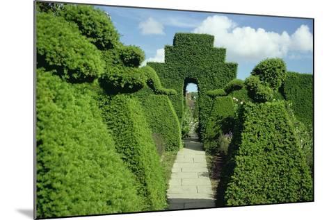 Topiary Garden, Designed-Sir Edwin Lutyens-Mounted Giclee Print