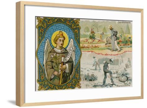 St Vincent, Gardeners and Vegetable Growers--Framed Art Print