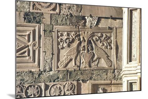 Carved Peacocks, Panel from the Exterior--Mounted Photographic Print