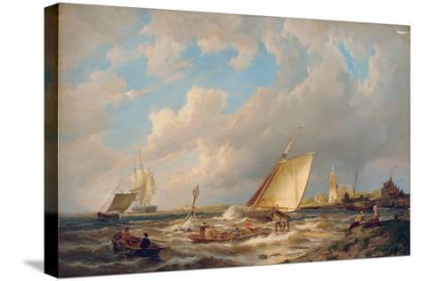 Maassluis, Holland-Pieter Cornelis Dommerson-Stretched Canvas Print