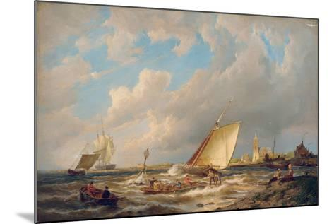 Maassluis, Holland-Pieter Cornelis Dommerson-Mounted Giclee Print